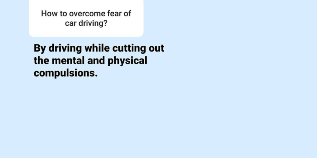 how to overcome driving anxiety question 1