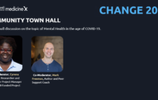 MedicineX Stanford town hall event Covid mental health