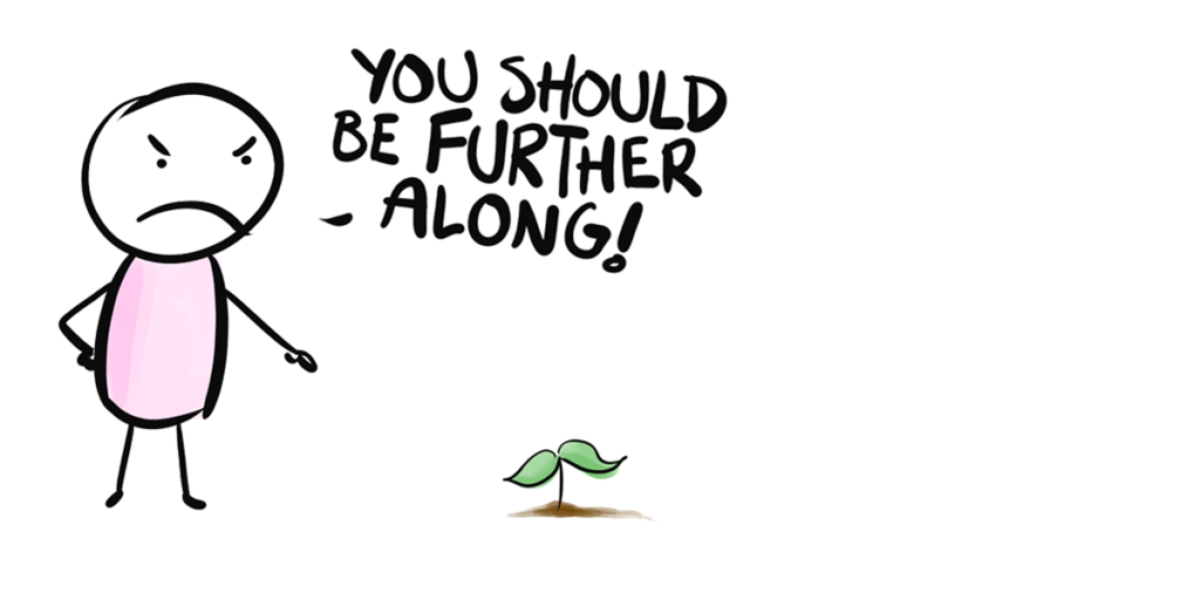 motivating change cartoon banner
